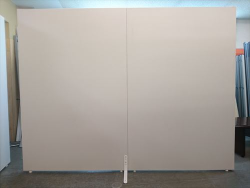 ト—カイスクリーン 2連自立パーテーション 中古|オフィス家具|パーテーション|自立式