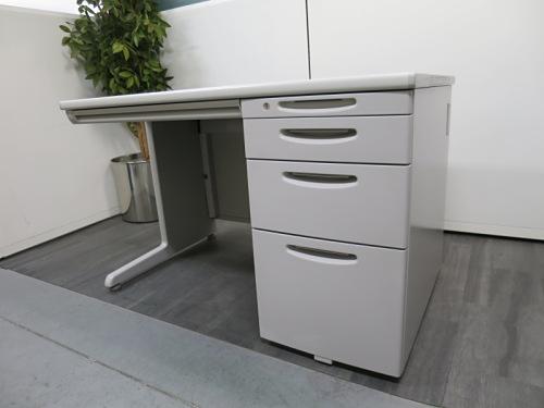 オカムラ 1100片袖デスク 中古|オフィス家具|事務机