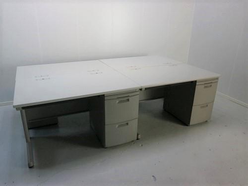 イトーキ 1200片袖デスク4台セット 中古|オフィス家具|事務机