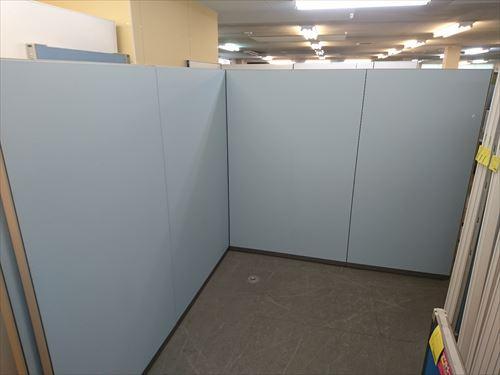 コクヨ 4連L型パーテーション 中古品 オフィス家具 パーテーション 連結式
