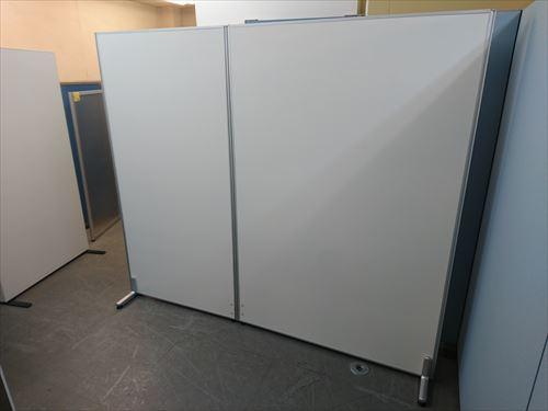 井上金庫 2連自立パーテーション 中古品 オフィス家具 パーテーション 自立式