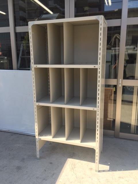 スチール書架 中古|オフィス家具|軽量棚