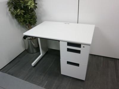 プラス 1000片袖デスク  中古 オフィス家具 事務机