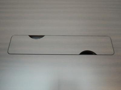 ライオンミーティングテーブル2000000014467配線ボックス付/天板3分割/ソフトエッジ/箱渡/お客様組立(取扱説明書・組立て工具付)詳細画像3