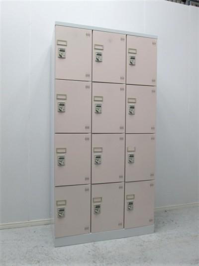 豊国工業 12人用ロッカー  中古|オフィス家具|ロッカー