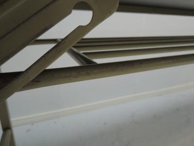 1845折畳会議テーブル2000000016433天板キズ/エッジ欠け/脚パーツ割れ・欠品有詳細画像4