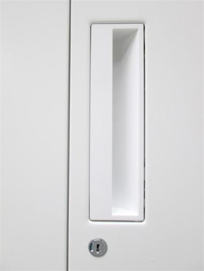 コクヨ両開き書庫2000000019416天板連結穴跡あり/天板キズ有詳細画像2