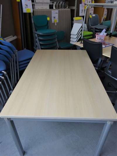 コクヨミーティングテーブル2000000019109折畳時 H135mm/天板キズ/天板打痕有/汚れ有り詳細画像2