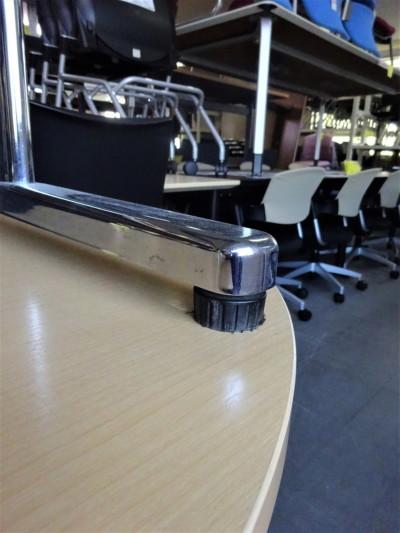 ウチダ(内田洋行)ミーティングテーブル2000000019110天板キズ有詳細画像3