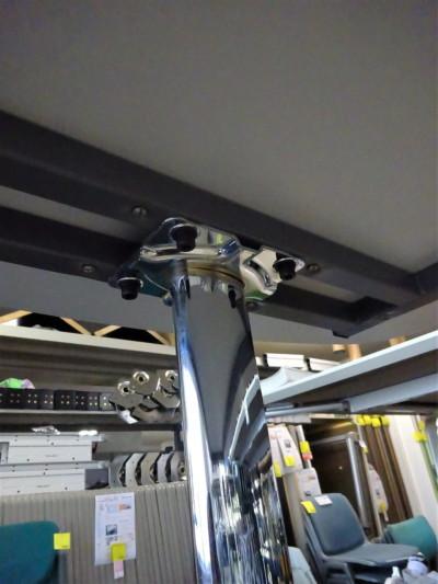 ウチダ(内田洋行)ミーティングテーブル2000000019110天板キズ有詳細画像4
