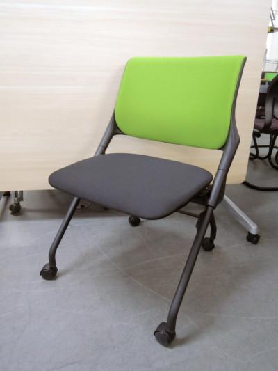 東洋工芸 ネスティングチェア2脚セット  中古|オフィス家具|ミーティングチェア