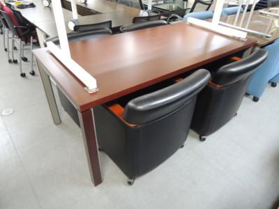 コクヨ 応接ミーティングテーブル  中古品|オフィス家具|ミーティングテーブル|応接