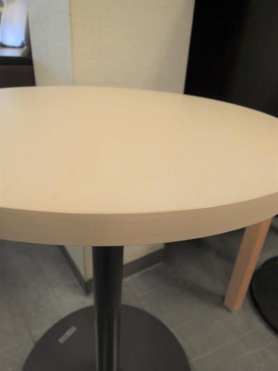コクヨ丸テーブル2000000019923ライトナチュラル/1本脚詳細画像2