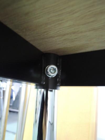 ニシキ工業 ミーティングテーブル 2000000019891ホワイト/4本脚詳細画像4