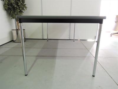ニシキ工業 ミーティングテーブル 2000000019891ホワイト/4本脚詳細画像2
