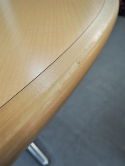 ライオンサークルテーブル 2000000019928ナチュラル/1本脚詳細画像4