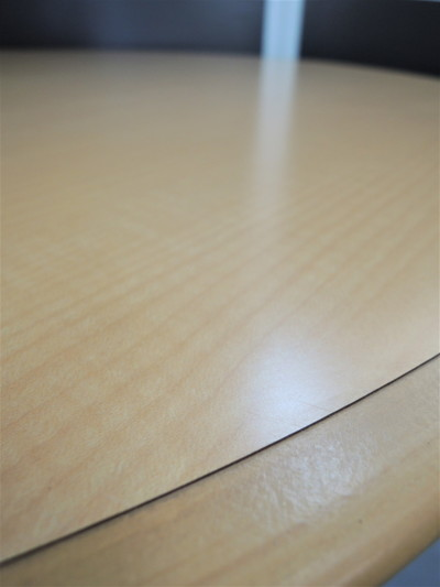 ライオンサークルテーブル 2000000019928ナチュラル/1本脚詳細画像2