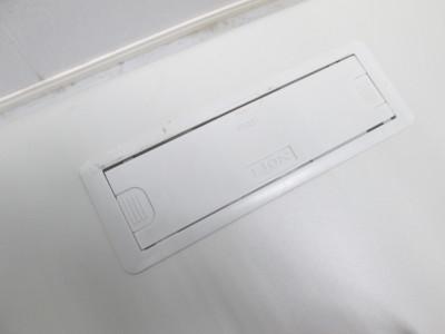 ライオン1000片袖デスク 2000000020350アジャスター非純正/キズ小有/ダクトカバーカケ有詳細画像4