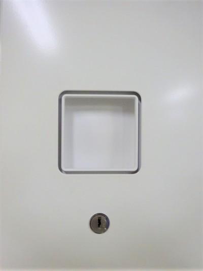 オカムラ両開き上下書庫 2000000020013キズ少々有詳細画像3