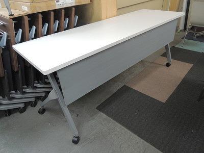 オカムラ フラプタースタックテーブル 中古 オフィス家具 サイドスタックテーブル