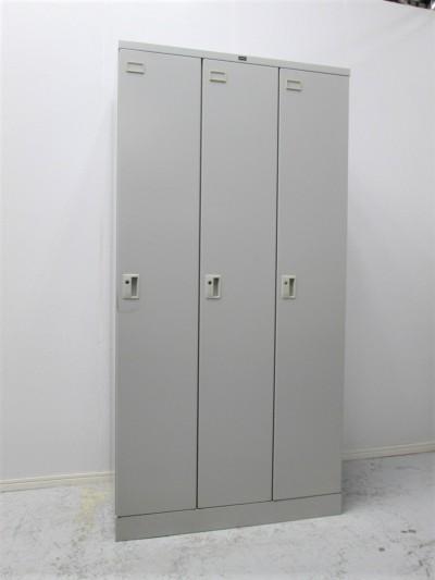 ウチダ(内田洋行) 3人用ロッカー  中古|オフィス家具|ロッカー