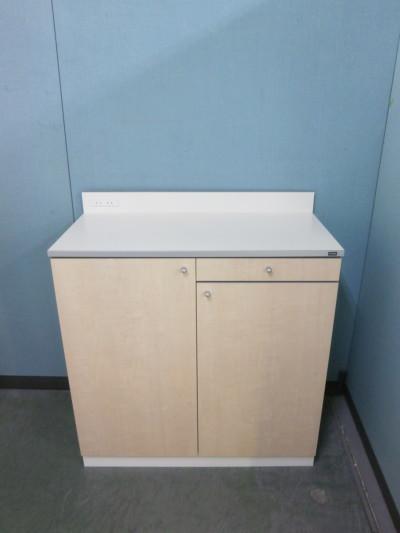 ウチダ(内田洋行) ビジネスキッチンカウンター 中古|オフィス家具|書庫