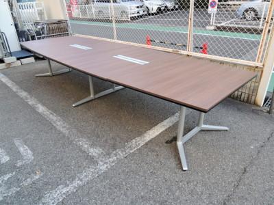 オカムラ ミーティングテーブル  中古|オフィス家具|ミーティングテーブル|役員応接