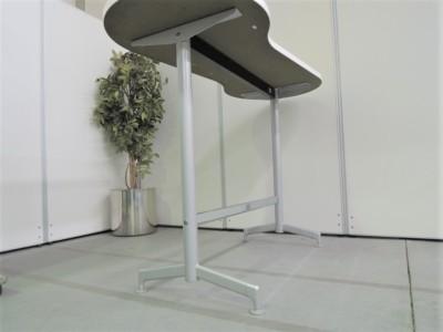 コクヨハイテーブル (カウンターテーブル)2000000021209ペールイエロー/T字脚詳細画像4