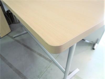 オカムラハイテーブル (カウンターテーブル)2000000021197ライトプレーン/T字脚詳細画像3