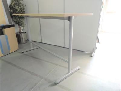 オカムラハイテーブル (カウンターテーブル)2000000021197ライトプレーン/T字脚詳細画像2