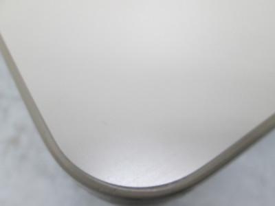 オカムラサイドスタックテーブル 2000000021263ニューアイボリー/ソフトエッジ/幕板なし詳細画像4