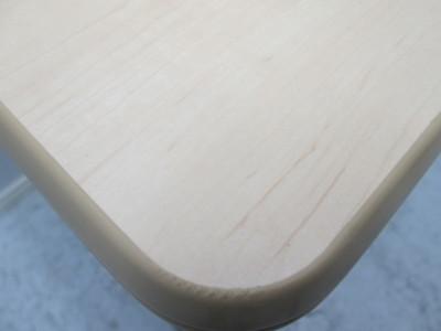 ウチダ(内田洋行)サイドスタックテーブル 2000000017737リマインドメープル/ソフトッジ/幕板付詳細画像4