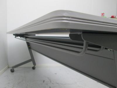 イトーキサイドスタックテーブル2000000021322ホワイトグレー/ソフトエッジ/幕板付詳細画像3