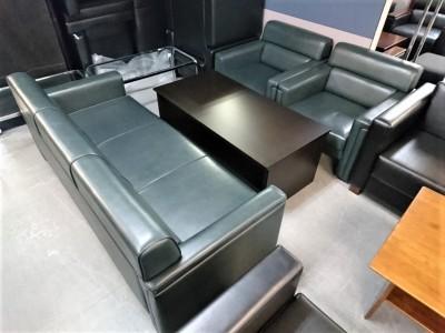 イトーキ 応接4点ソファセット 中古|オフィス家具|その他オフィス家具|役員用家具