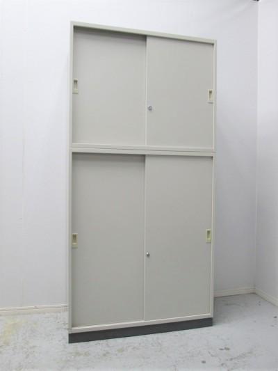 コクヨ スライド上下書庫  中古|オフィス家具|書庫