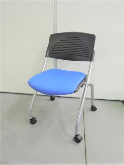 ネスティングチェア  中古|オフィス家具|ミーティングチェア|スタッキングチェア