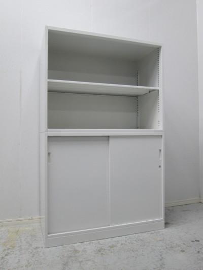 イトーキ オープンスライド上下書庫 中古|オフィス家具|書庫