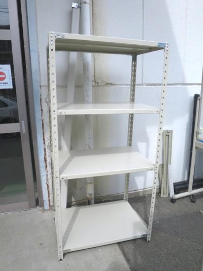 プラス 軽量棚  中古品|オフィス家具|書庫|軽量棚
