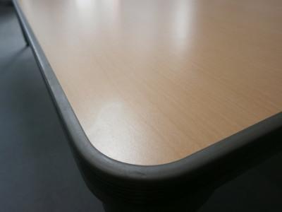 オカムラ2400グループテーブル2000000021246天板スリキズ少々/搬入注意詳細画像3