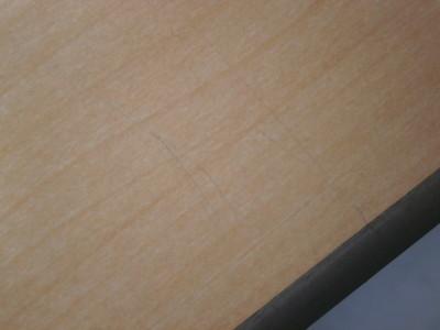オカムラ2400グループテーブル2000000021246天板スリキズ少々/搬入注意詳細画像4