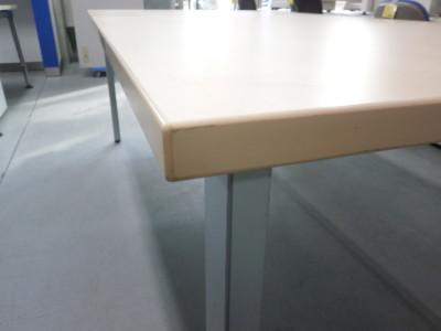 ウチダ(内田洋行)ミーティングテーブル2000000021245脚フレームキズ有り詳細画像2