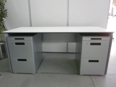 コクヨ 1600システムデスクセット 中古|オフィス家具|デスクセット