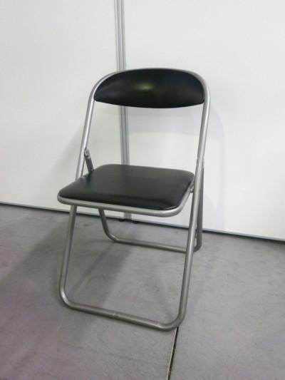 コクヨ 折畳パイプイス4脚セット 中古|オフィス家具|ミーティングチェア