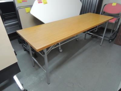 折畳会議テーブル  中古|オフィス家具|折畳会議テーブル