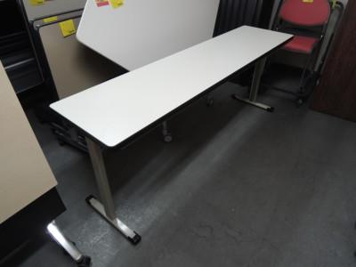 ライオン 折畳会議テーブル 中古 オフィス家具 折畳会議テーブル
