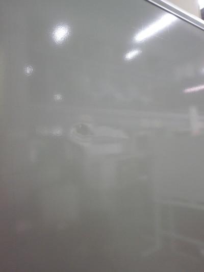 オカムラ1800脚付ホワイトボード 2000000024022板角パーツ欠品/板ヘコミ有詳細画像4
