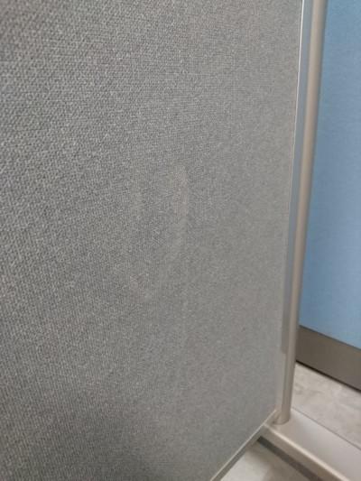 コクヨ自立パーテーション 2000000024081汚れ少々、小穴有詳細画像2