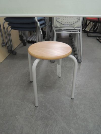 コクヨ 丸イス4脚セット  中古|オフィス家具|ミーティングチェア