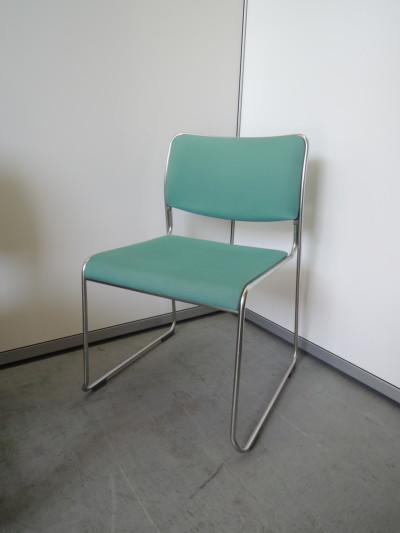 ウチダ(内田洋行) スタッキングチェア4脚セット 中古 オフィス家具 ミーティングチェア