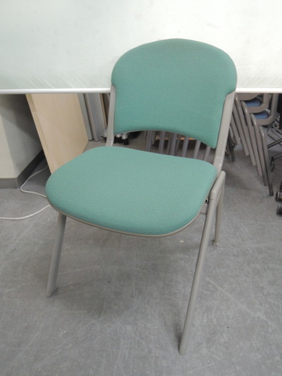 ウチダ(内田洋行) スタッキングチェア6脚セット  中古|オフィス家具|ミーティングチェア